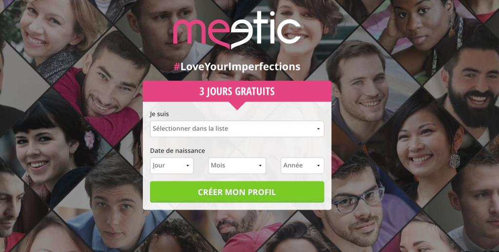 Site de rencontre meetic 3 jours gratuit