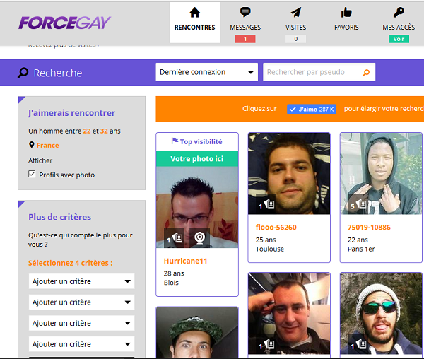 avis force gay