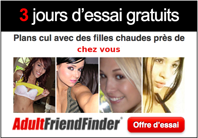 Testez adult friend finder 3 jours