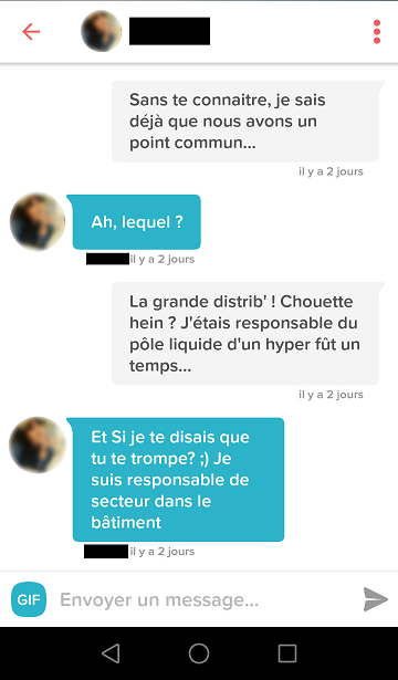 premier message meetic