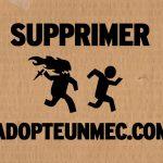 Supprimer son compte Adopte Un Mec facilement