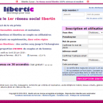 inscription libertic