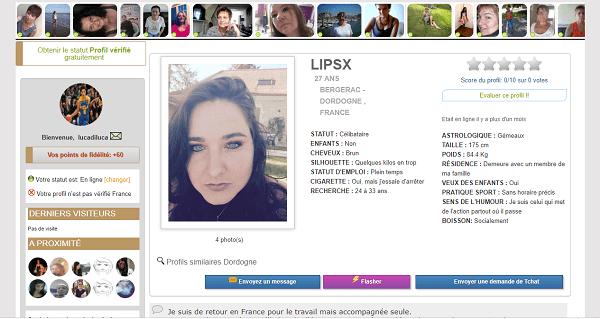 site de rencontre oulfa profil