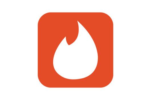 flamme logo tinder