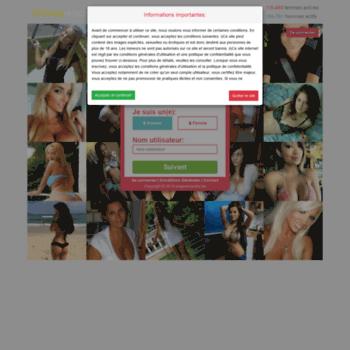 L'interface Snaprencontre