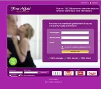 Comment s'inscrire sur first Affair ?