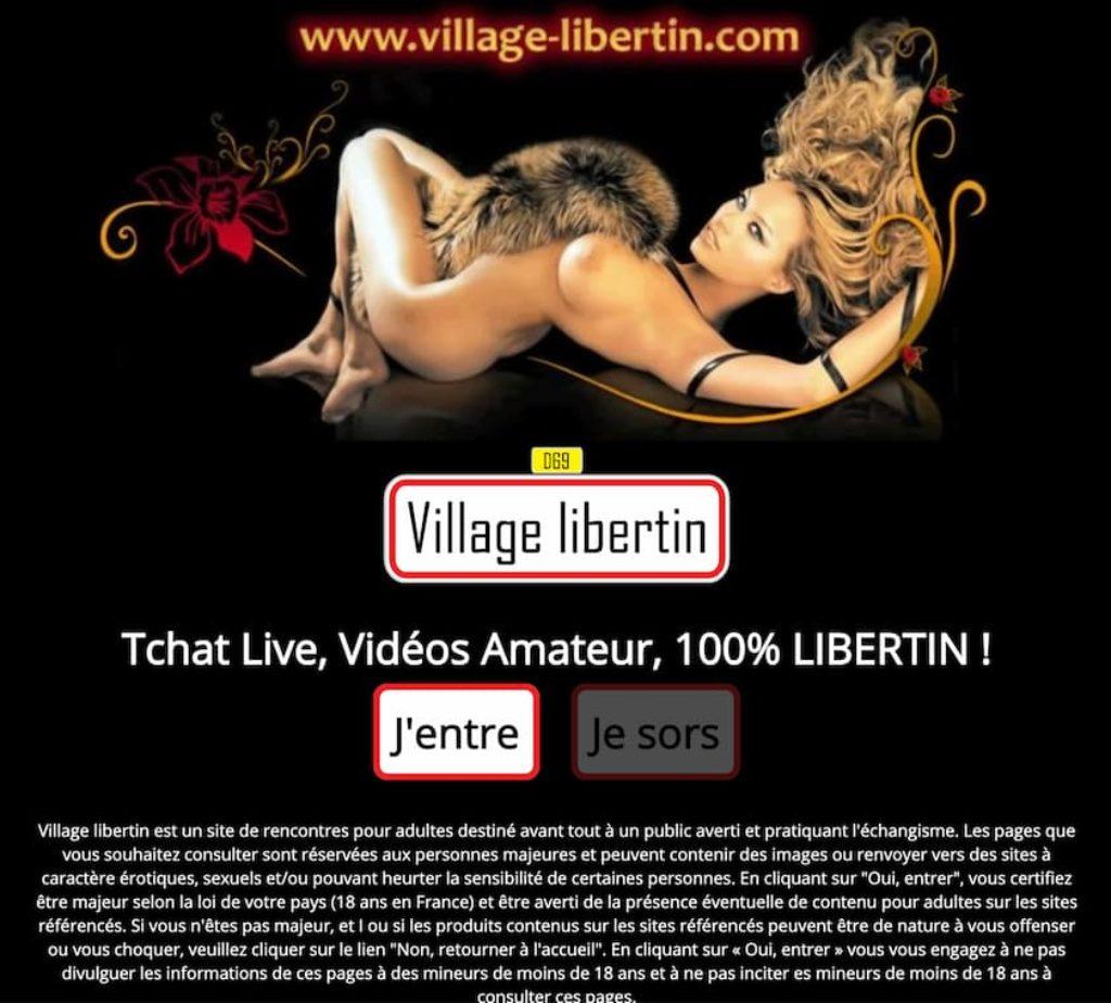 village libertin avis